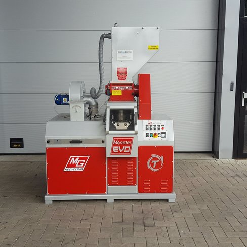 Used MG cable granulator